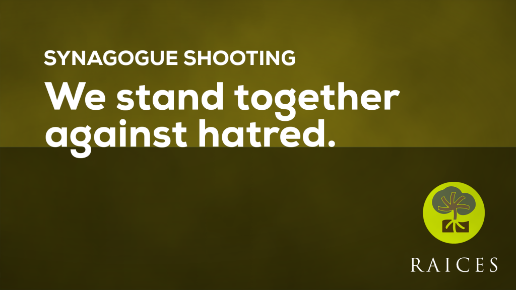 We Stand Together Against Hatred